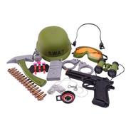 Disfraz Set De Combate Armas Y Accesorios Nvo 7332 Bigshop