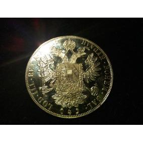 Año 1915 Moneda 4 Ducados De Oro De Austria Del Excelente