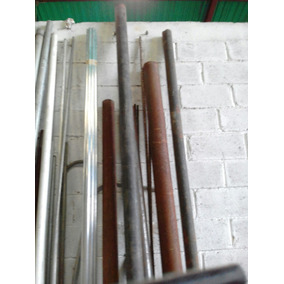 Tubo De 3 Y Uno De 4 Pulgadas Sch40 Sin Costura Hierro Negro