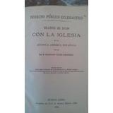Dalmacio Velez Sarsfield Dcho Publico 1º Ed. 1889 Libro Anti