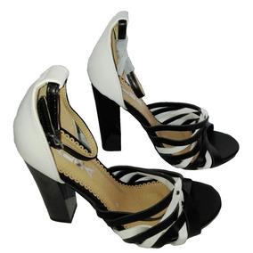 Zapato Taco Vestir Mujer 37 Alba Sandalia Regalo Navidad Lov