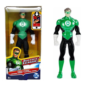 Mattel Liga Da Justiça - Lanterna Verde 15 Cm ( Fbr19 )