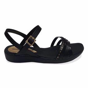 Sandalia Negra Azaleia Dama