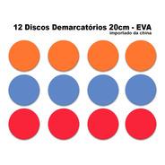 12 Discos 20cm Eva = A Função De Cones Circuito Agilidade