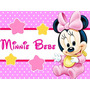 Kit Imprimible Minnie Bebe Disney Candy Bar Tarjetas Y Mas 1