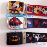 Correas Spiderman Toy Story Batman Hotwells Mario Bros