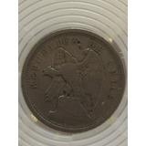 Moneda De 20 Centavos Chilenos De 1925