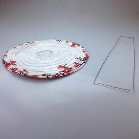 Decoración China Lámpara De Papel Floral