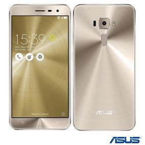 Zenfone 3 Dourado Asus 4g 64 Gb Camera 16 Mp Ze552kl