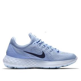 Tenis Nike Lunar Skyelux Azul Mujer Originales