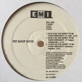 Pet Shop Boys - How Can You Expect To Be 12
