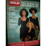 Revista Hola España 2264 Duquesas Españolas Dave Eurythmics