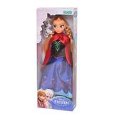 Muñeca Frozen Anna Original Con Licencia Disney