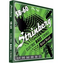 Encordoamento Contra Baixo 6 Cordas 030 Strinberg Sb60