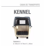 Caixa De Transporte Kennel Villapet N6 Para Cachorro