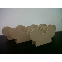Servilleteros Para Pintar Minnie Mouse Mickey Mouse Madera