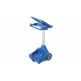 Soporte De Plastico Con Pedal Para Bolsas De Basura De 120 L