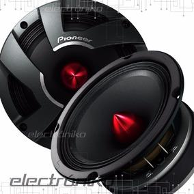 Par De Parlantes Medios Pioneer Ts-m650 Pro 6.5pulg 500 Watt