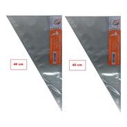 Saco Confeitar/manga Descartavel -40cm- Médio Com 100und