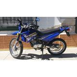 Yamaha Xtz 125 Azul Impecable, Con Accesorios, Como Nueva!!!