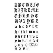 Placa Para Carimbo Letras Gang Unhas - Produto Exclusivo