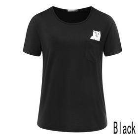 Playera Blusa Camiseta De Gato Grosero Unisex
