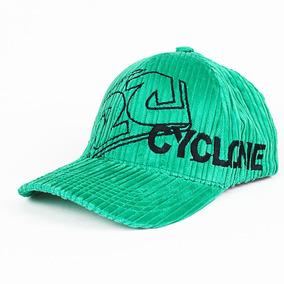 Boné Cyclone Veludo Original Verde Rasta Style Lançamento 6830c9e00f2