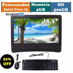 Computador All In One I3/500gb/4gb - Promoção (9680)
