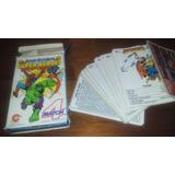 Juego De Naipes Match 4 Super Heroes Cromy 1985 Estado Nuevo