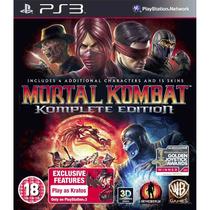 Mortal Kombat 9 Komplete Edition Ps3 Envio Hoje Gamesclub