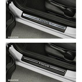 Jogo Soleira Premium Elegance Ford Focus 2009 À 2013 8 Pçs.