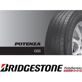 Llanta 185/60r14 Bridgestone Potenza Giii, Nuevas