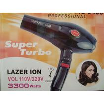 Secador Cabelo Profissional Super Turbo Bivolt 3300w