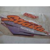 Jogo De Faixas Adesivo Honda Cbx 200 Strada Vermelha Ano 97