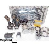 Kit Retifica Motor Pistão Anel Junta Biela Hr L200 K2500