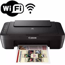 Impressora Multifuncional Canon Mg3010 Wireless Sem Cartucho