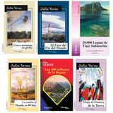 Lote X 6 Libros De Julio Verne Nuevos Aventuras