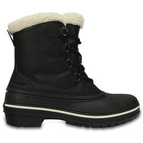 Crocs Originales Allcast Ii Boot W Negro Mujer 001