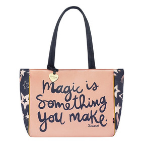 Bolso Cartera Estampada Mujer Grande Simones Hot Sale
