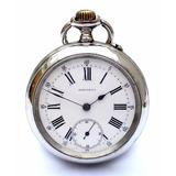 Reloj Bolsillo Longines 1890c (con 127 Año) Funcionando 50mm
