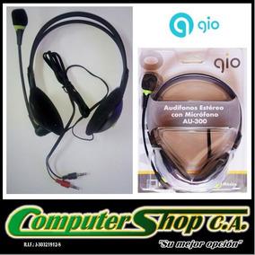 Audifonos Con Microfono Estereo / Gio / Au-300