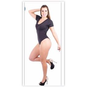 Kit 03 Peças, Body, Short E Blusa Mossego Tam M