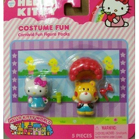 Hello Kitty Carnaval Fun Figura Packs - Traje Fun By Jakks