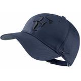 Gorra Nike Roger Federer Cod 413 Azul Petroleo Visera Gorro