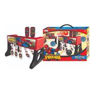 Bowling Juguete Bolos Pelota Spiderman Juego 2en1 Personajes