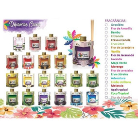 Kit 10 Aromatizador Ambientes Difusor Tropical Aromas 250ml