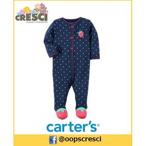 Pijama Algodão Vermelho Azul Moranguinho Carter