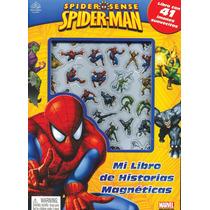 Mi Libro De Historias Magnéticas: Marvel Spiderman