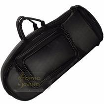 Semi Case Bag Trombonito Master Luxo Couro Pelucia