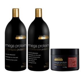 Kit Mega Protein (3produtos) - Maxiline